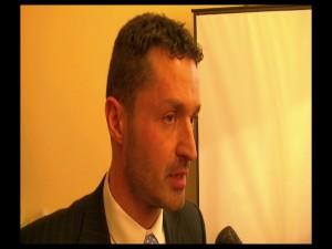 Il dirigente del Commissariato di Gallarate, Gianluca Dalfino