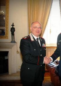 Il generale di Divisione Angelo Agovino