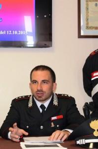 Capitano Paolo De Alescandris, Comandante Compagnia di Sanremo