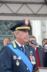 Il comandante Tullio Mastrangelo
