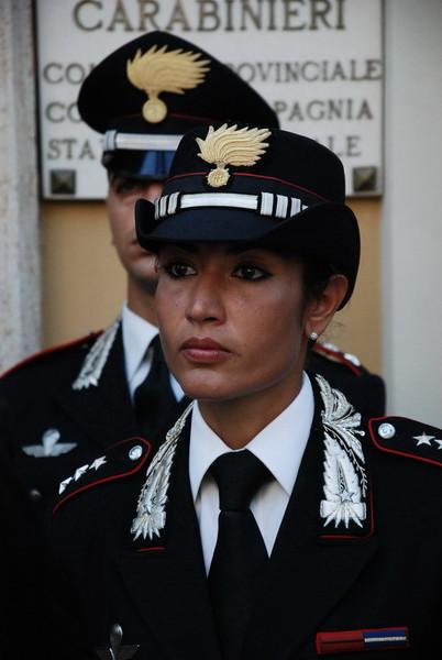 Il capitano Geradina Corona (foto Sanremonews)